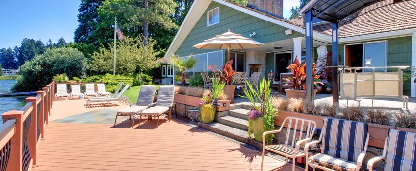 Renting out your lake home
